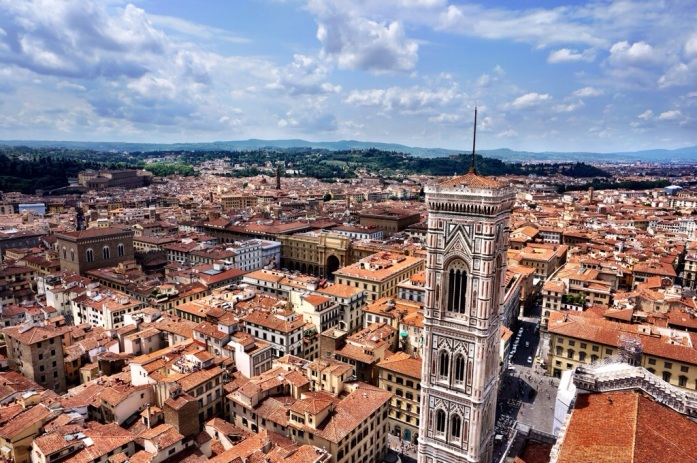 Climbing the Duomo in Florence, Italy