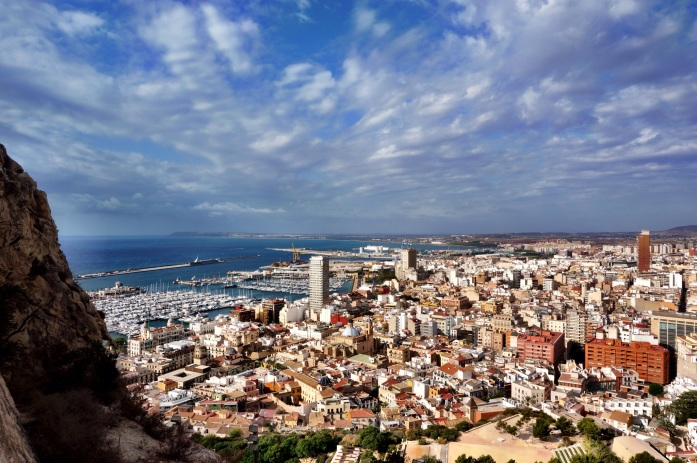 Alicante is a small beach town in the south of Spain about four hours from Barcelona.