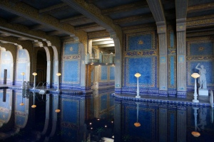 Indoor swimming pool at Hearst Castle